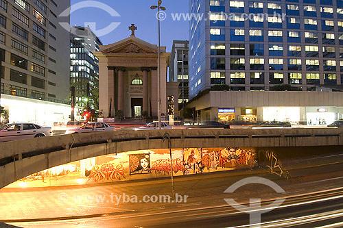 Igreja São Luís de Gonzaga - São Paulo  - SP - Brasil  - São Paulo - São Paulo - Brasil