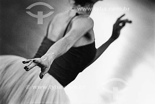 Detalhe de dançarina de Balé clássico