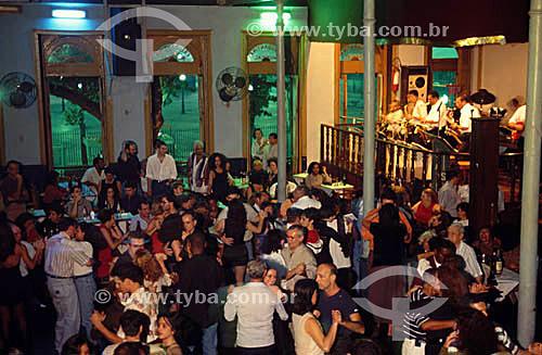 Estudantina - casa de dança de salão com orquestra tocando ao vivo - centro da cidade do Rio de Janeiro - RJ - Brasil  - Rio de Janeiro - Rio de Janeiro - Brasil
