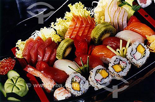 Comida japonesa - sushi  - Brasil