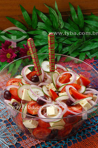 Culinária - salada  - Brasil