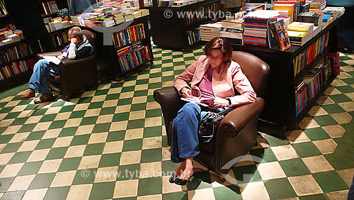 Livraria da Travessa de Ipanema - Rio de Janeiro - RJ - Brasil - Jul/2007  - Rio de Janeiro - Rio de Janeiro - Brasil