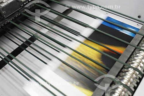 Industria Gráfica - Produção de livro - São Paulo - SP - Dezembro de 2006  - São Paulo - São Paulo - Brasil
