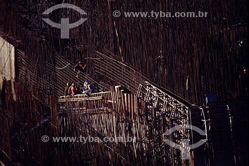 Industrial - Construção da Hidroelétrica de Itaipú - PR - Brasil  - Paraná - Brasil