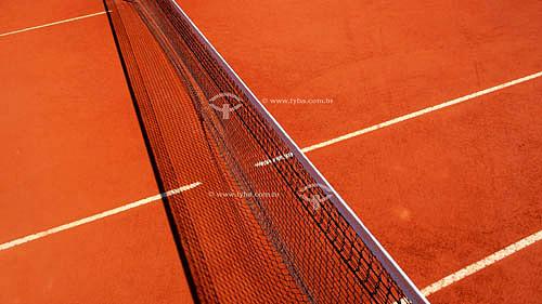 Rede de quadra de tênis  Mar/2007.