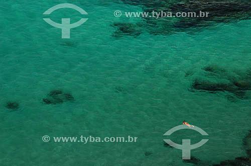 Mergulho com Snorkel na Baía do Sancho - Fernando de Noronha - PE - Brasil  O arquipélago Fernando de Noronha é Patrimônio Mundial pela UNESCO desde 16-12-2001.  - Fernando de Noronha - Pernambuco - Brasil