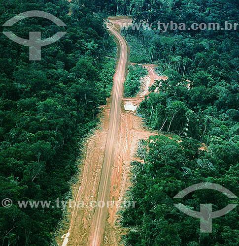 Rodovia Transamazônica - Amazonas - BrasilData: 2006