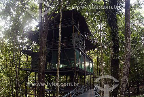 Casa de Tarzan - Hotel Ariaú - Rio Negro - AM - Brasil  - Iranduba - Amazonas - Brasil