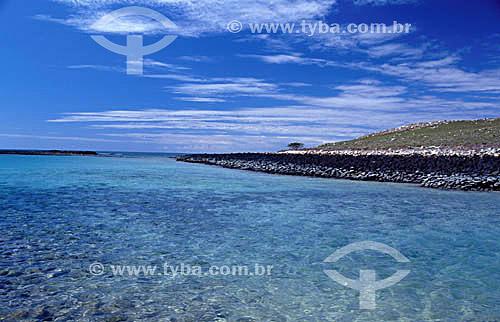 Ilha da Siriba - Arquipélago de Abrolhos  - Costa das Baleias - litoral sul da Bahia - Brasil  O Parque Nacional Marinho de Abrolhos foi criado em 6 de abril de 1983.  - Caravelas - Bahia - Brasil