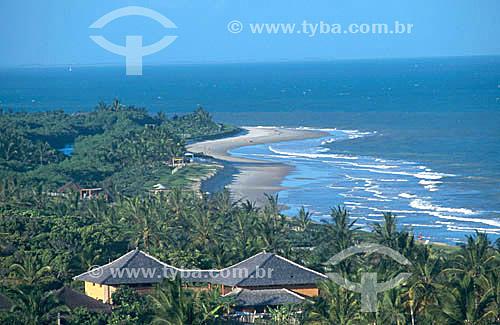 Casa entre coqueiros - Trancoso - litoral sul da Bahia - Brasil  - Porto Seguro - Bahia - Brasil