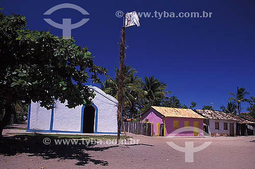 Vila em Caraíva - Bahia - Brasil  - Porto Seguro - Bahia - Brasil