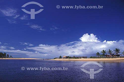 Praia em Caraíva - Bahia - Brasil  - Porto Seguro - Bahia - Brasil