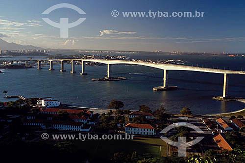 Ponte Darcy Castelo Mendonça, mais conhecida como Terceira Ponte - Vitória - ES - Brasil  - Vitória - Espírito Santo - Brasil
