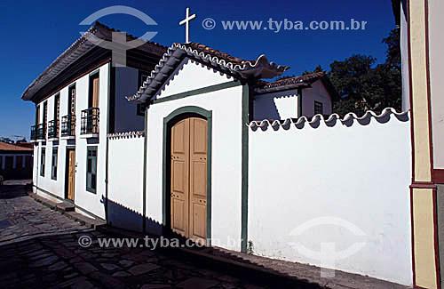 Casa de Chica da Silva - Diamantina  - MG - Brasil A cidade é Patrimônio Mundial pela UNESCO desde 1999.  - Diamantina - Minas Gerais - Brasil