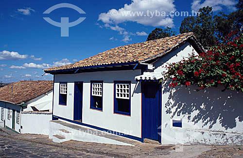 Casa de Juscelino Kubitschek em Diamantina  - MG - Brasil A cidade é Patrimônio Mundial pela UNESCO desde 1999.  - Diamantina - Minas Gerais - Brasil