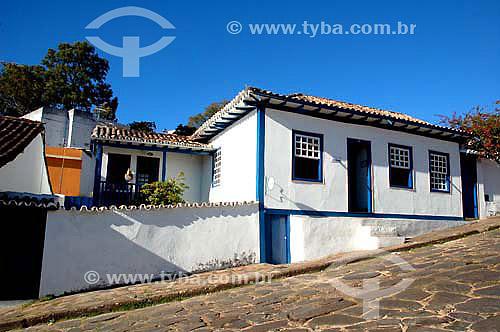 Casa de Juscelino Kubitschek - Diamantina - Minas Gerais - Julho de 2006  - Diamantina - Minas Gerais - Brasil
