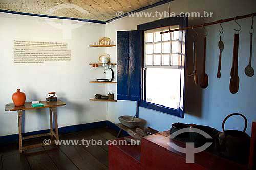 Interior da casa de Juscelino Kubitschek - Diamantina - Minas Gerais - Julho de 2006  - Diamantina - Minas Gerais - Brasil