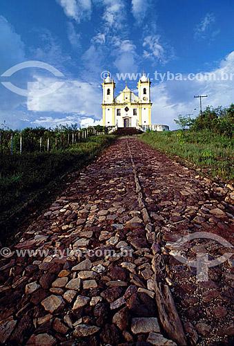 Igreja São Francisco de Paula - Ouro Preto  - MG - Brasil A cidade de Ouro Preto é Patrimônio Mundial pela UNESCO desde 05-09-1980.  - Ouro Preto - Minas Gerais - Brasil