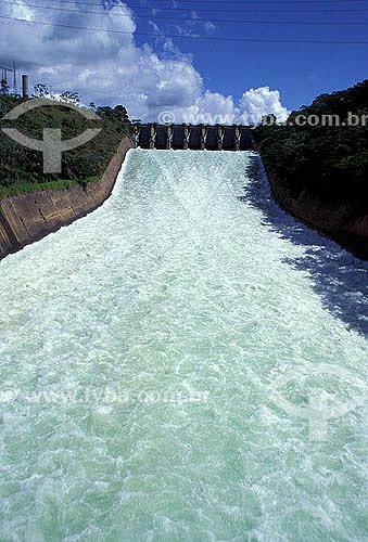 Assunto: Hidrelétrica de Três Marias - Rio São Francisco - Minas Gerais / Data: 1992