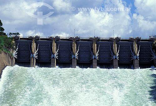 Hidrelétrica de Três Marias - Rio São Francisco - Minas Gerais - Brasil  - Três Marias - Minas Gerais - Brasil