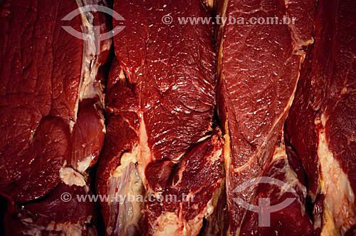 Carne - Mercado Ver-o-Peso - Belém - PA - Brasil  - Belém - Pará - Brasil