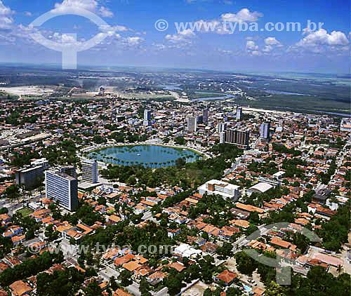 Vista aérea de João Pessoa - Paraíba - Brasil  - João Pessoa - Paraíba - Brasil