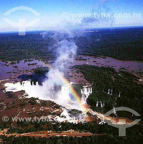 Cataratas de Foz do Iguaçú - Parque Nacional de Iguaçú  - PR - Brasil - fevereiro/2002  O Parque Nacional do Iguaçu é Patrimônio Mundial pela UNESCO desde 28-11-1986.  - Foz do Iguaçu - Paraná - Brasil