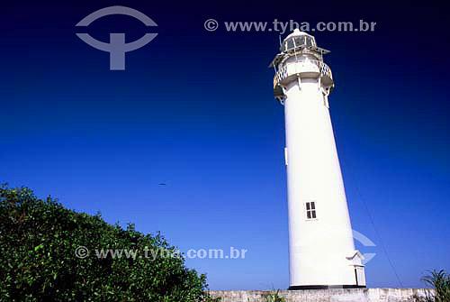 Farol das Conchas - Ilha do Mel - Paraná - Brasil - Agosto 2000  - Paranaguá - Paraná - Brasil