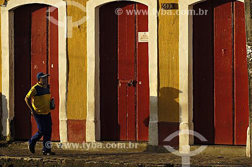 Carteiro - Arquitetura - Portas e Janelas - Olinda - Jul/2007  - Olinda - Pernambuco - Brasil