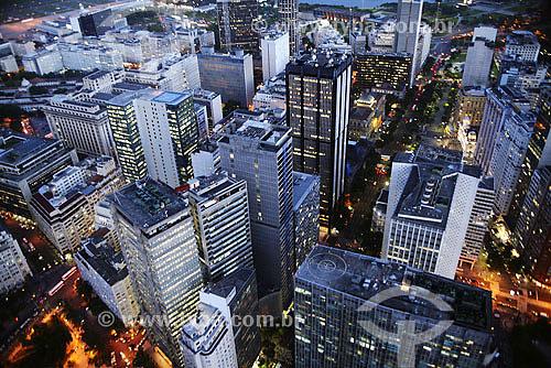 Vista aérea do centro do Rio de Janeiro - RJ - Brasil / Data: 2006