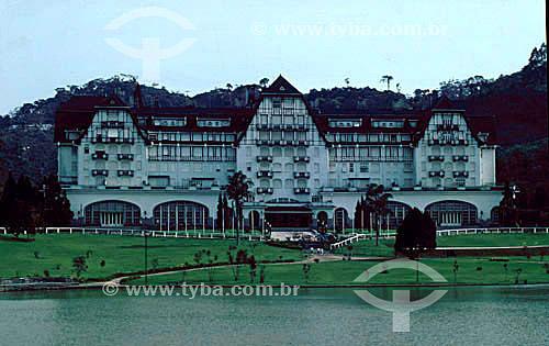 Antigo Hotel Quitandinha - Petrópolis - RJ - Brasil  - Petrópolis - Rio de Janeiro - Brasil