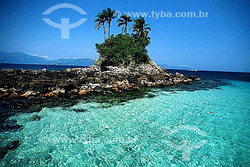 Uma das Ilhas Botinas ou Duas Botas - Angra dos Reis - Costa Verde - RJ - Brasil  - Angra dos Reis - Rio de Janeiro - Brasil