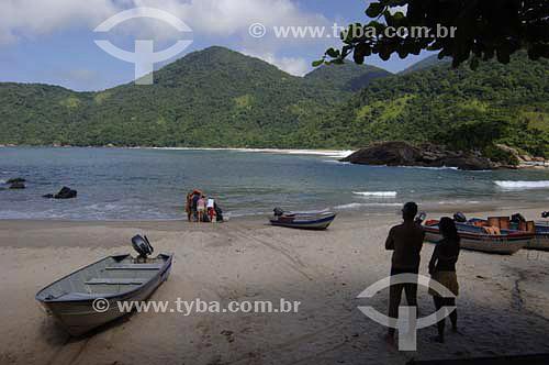 Praia do Meio - Trindade - Paraty  - Costa Verde - RJ - Brasil - Abril 2006  - Paraty - Rio de Janeiro - Brasil