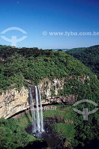 Cascata do Caracol - Canela - RS - Brasil  - Canela - Rio Grande do Sul - Brasil