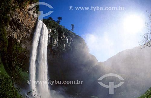 Cachoeira do Caracol - Serra Gaúcha - Canela - Rio Grande do Sul - Brasil  - Canela - Rio Grande do Sul - Brasil