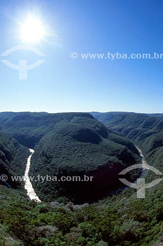 Rio - Parque da Ferradura - Serra Gaúcha - Canela - Rio Grande do Sul - Brazil  - Canela - Rio Grande do Sul - Brasil