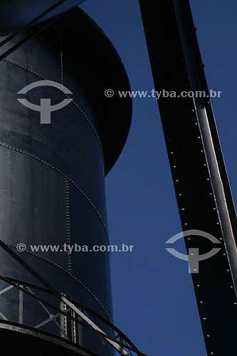 Detalhe das Três Caixas D`Água - Porto Velho - Rondônia - Maio de 2006  - Porto Velho - Rondônia - Brasil