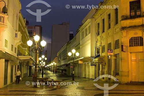 Assunto: Rua Felipe Schmidt / Local: Centro de Florianópolis - SC - Brasil /  Data: 2009