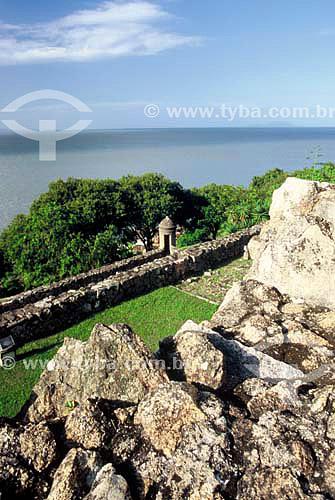 Fortaleza de São José da Ponta Grossa - Florianópolis - SC - Brasill - Julho de 2006  - Florianópolis - Santa Catarina - Brasil