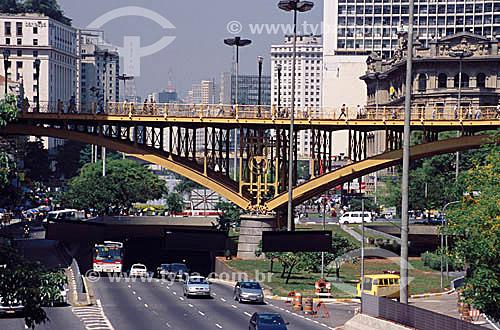 Viaduto Santa Efigênia - Centro de São Paulo - SP - Brasil  - São Paulo - São Paulo - Brasil