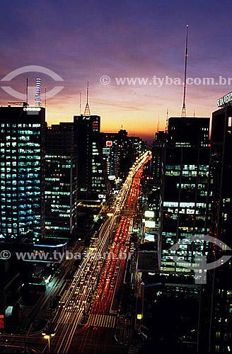 Avenida Paulista  - São Paulo - São Paulo - Brasil