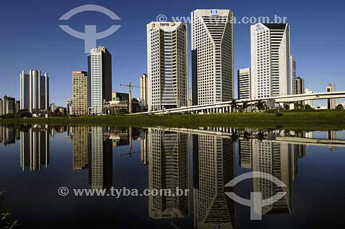 Avenida Nações Unidas na Marginal Pinheiros - Rio de Pinheiros - São Paulo - SP - Brasil  - São Paulo - São Paulo - Brasil