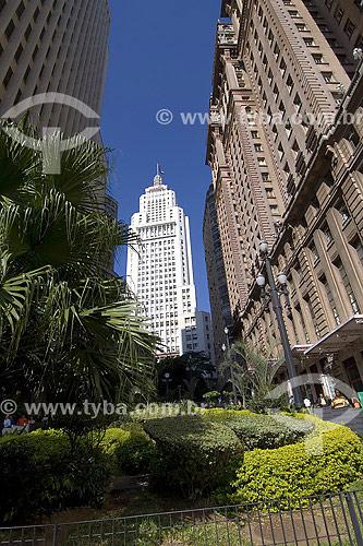 Edificio Martinelli e Edificio Banespa - São Paulo - SP - Brasil  - São Paulo - São Paulo - Brasil