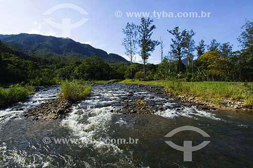 Rio Cubatao no Parque Estadual da Serra do mar - Cubatao - SP - Brasil  - Serra - São Paulo - Brasil