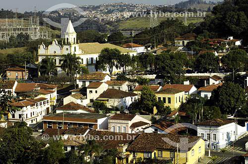Praça 14 de Novembro em Santana do Paranaíba - cidade tombada - SP - Brasil  - Santana de Parnaíba - São Paulo - Brasil