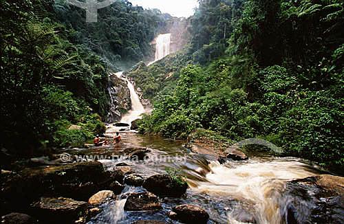 Cachoeira dos Veados - Parque Nacional da Serra da Bocaina - SP - Brasil / Data: 2007