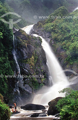 Cachoeira dos Veados - Parque Nacional da Serra da Bocaina - SP - Brasil  - São José do Barreiro - São Paulo - Brasil
