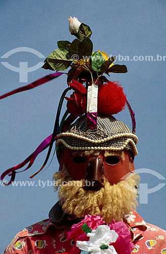 Folclore - Folia de Reis - MG - Brasil  - Minas Gerais - Brasil