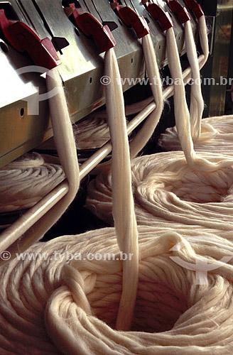 Indústria de tecido - RJ - Brasil  - Rio de Janeiro - Brasil