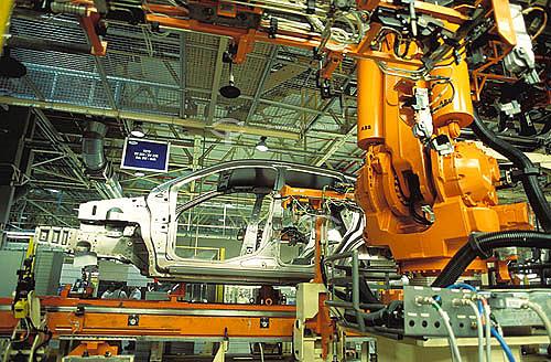 Fábrica de automóveis Ford - Camaçari - próximo à Salvador - Bahia - Brasil(2003)  - Salvador - Bahia - Brasil